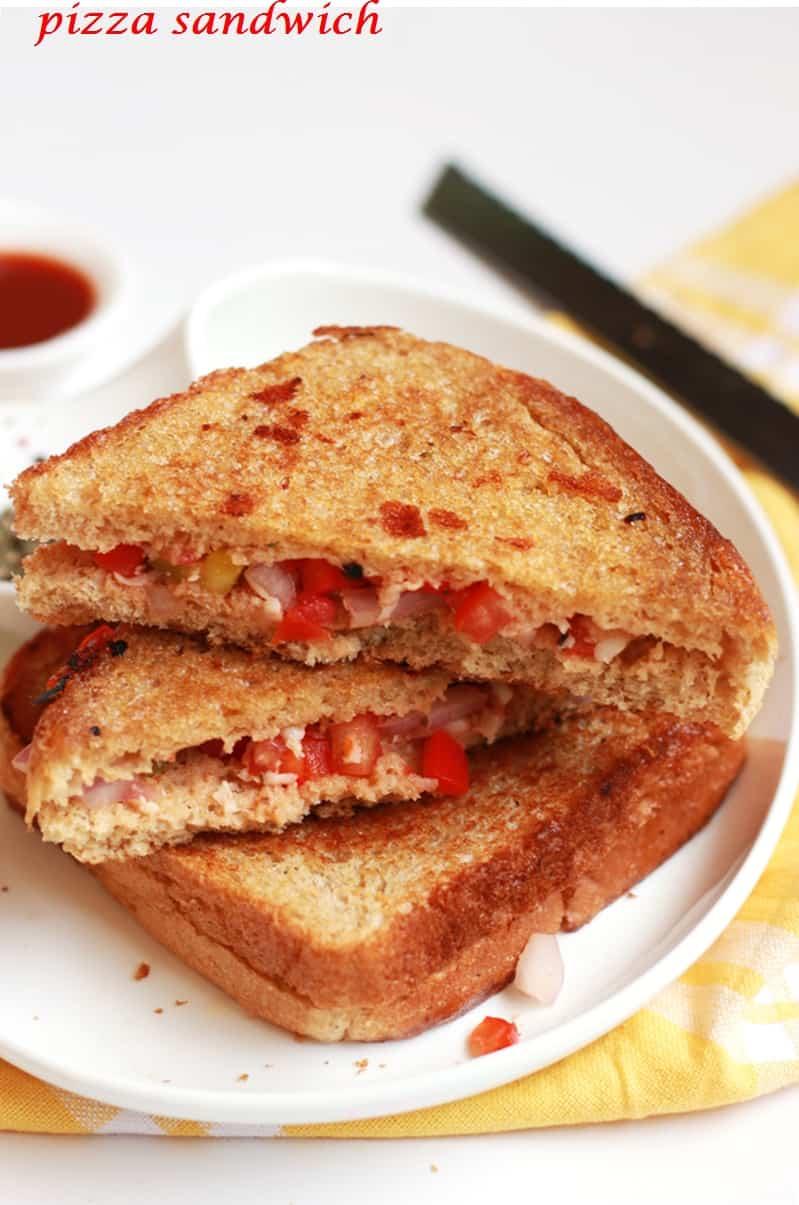 piza sandwich recipe
