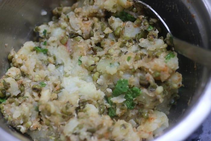 potato filling for pani puri recipe