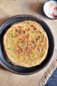 cheese-capsicum-paratha-recipe2
