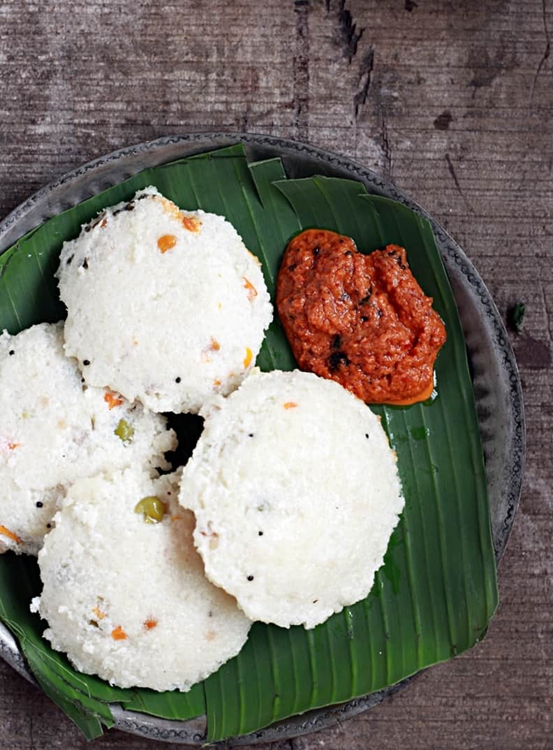 how to make poha idli recipe