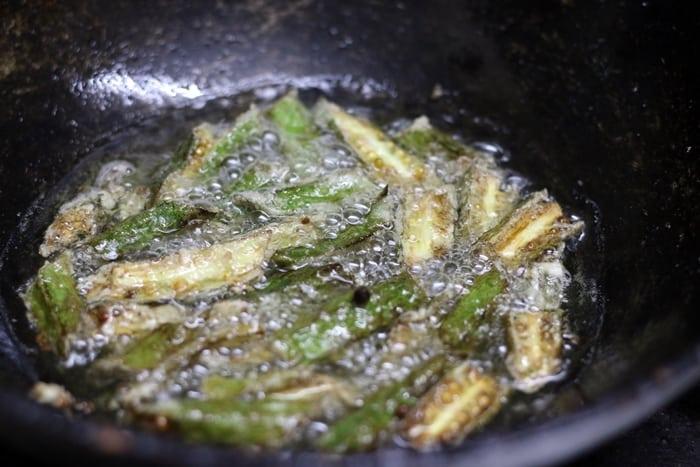 chili okra step 2