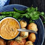 Red coconut chutney recipe   Coconut chutney with red chillies