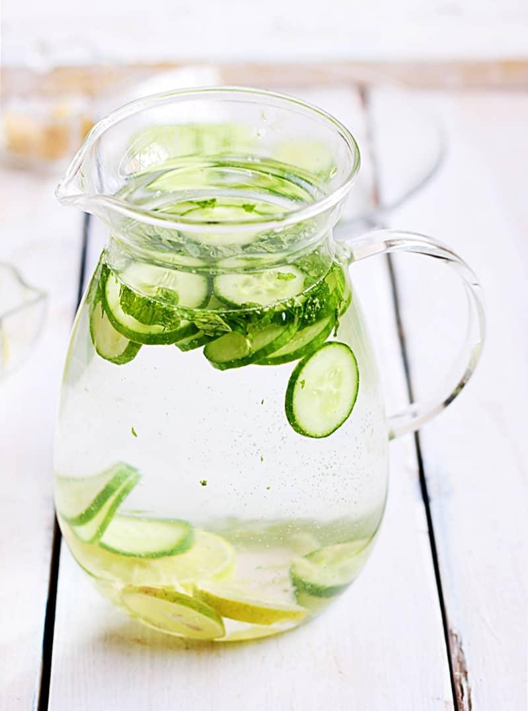 cucumber lemon detox drink recipe