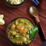 Thai green curry recipe | Vegetarian thai green curry recipe