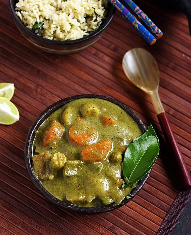 thai green curry recipe-image