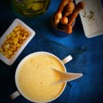 Cream of sweet corn soup recipe | Easy soup recipes.