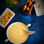 Cream of sweet corn soup recipe | Easy soup recipes.