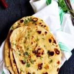 Restaurant style garlic naan