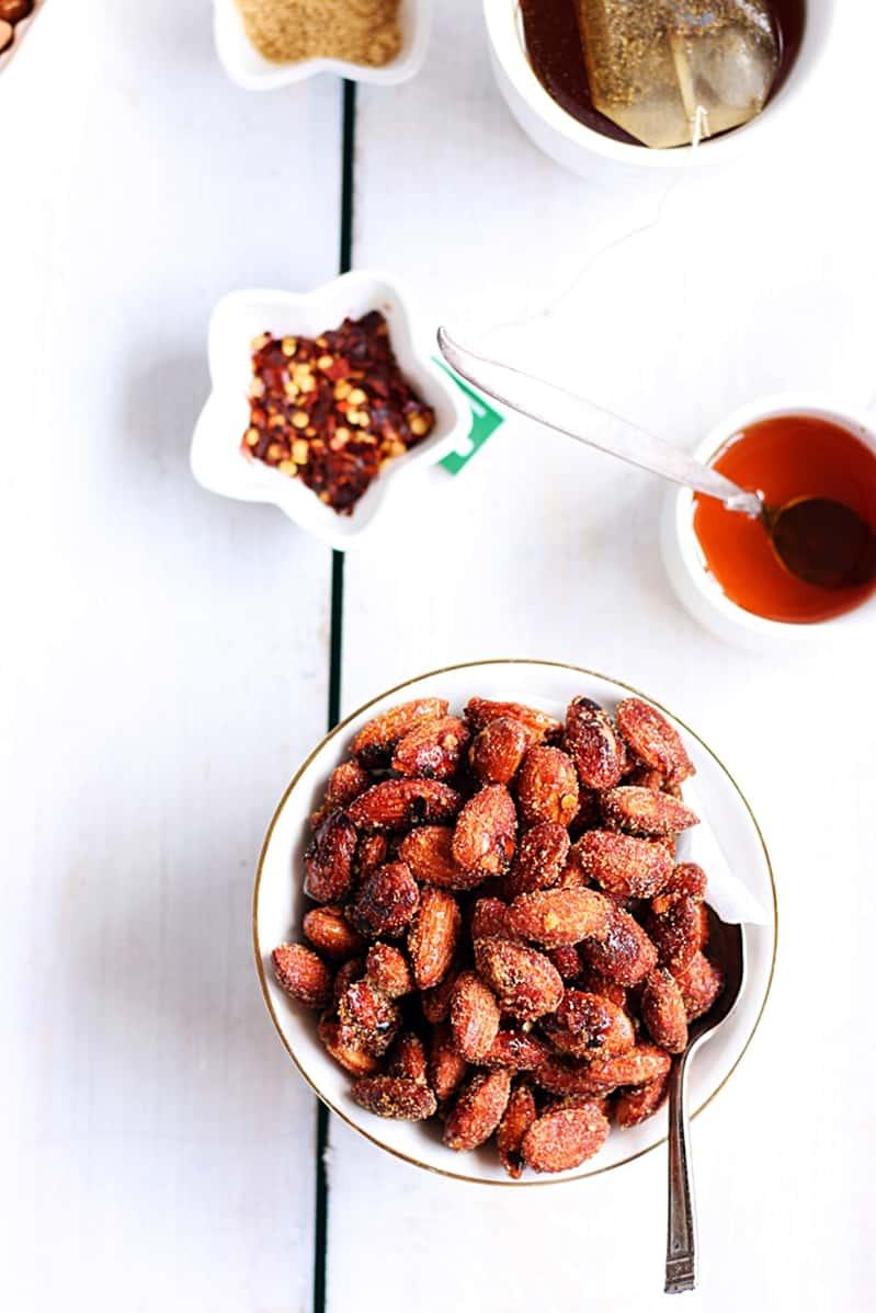 honey chili almonds recipe b