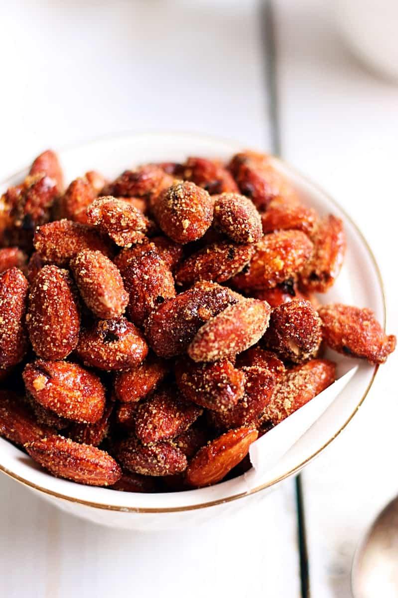 honey chili almonds recipe c