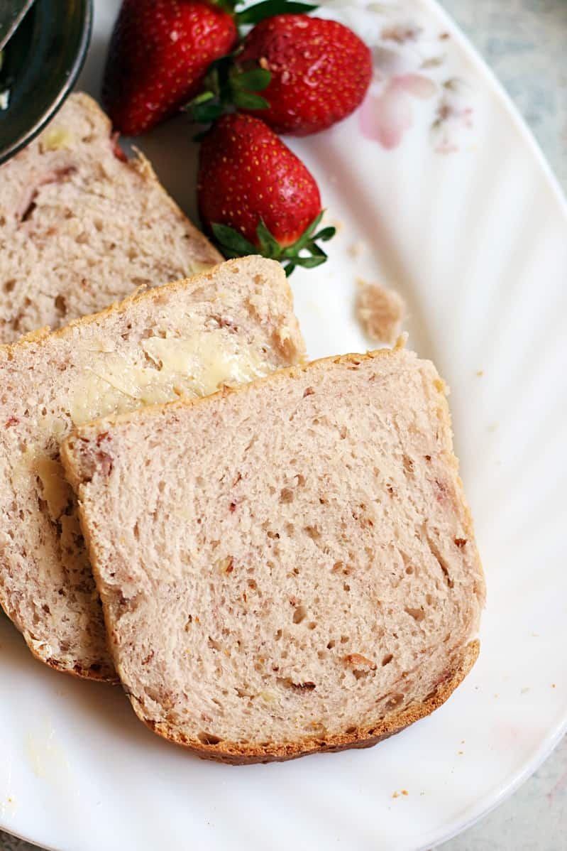 strawberry yeast bread recipe b