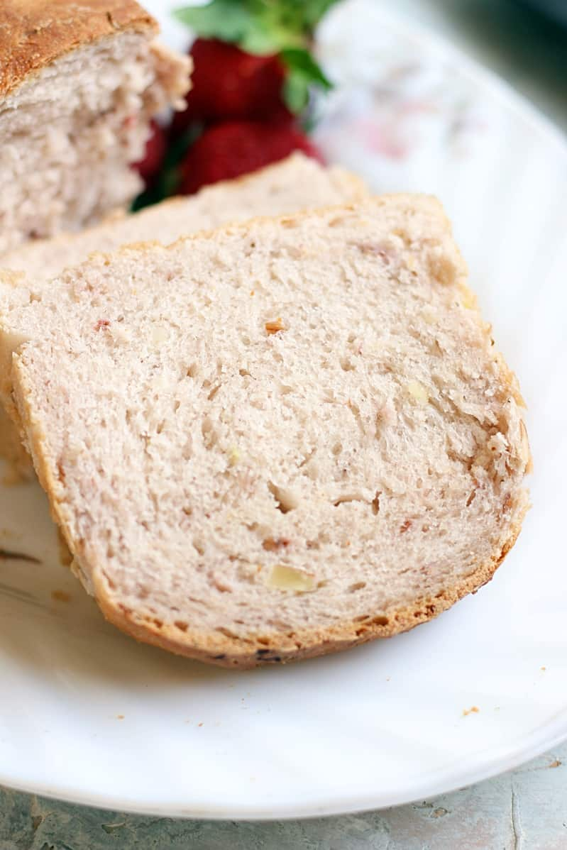 strawberry almond bread recipe