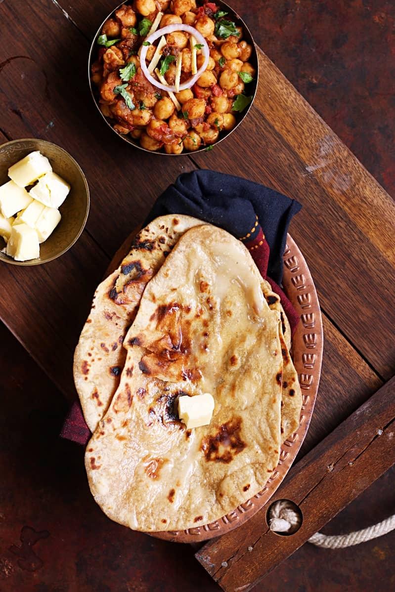 tandoori roti recipe on stove top