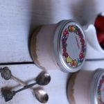 strawberry cheesecake recipe | Eggfree strawberry cheesecake in a jar