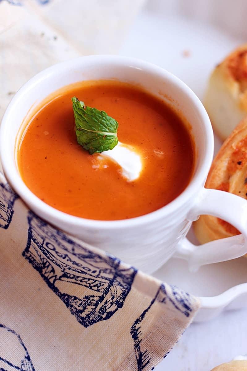 carrot ginger soup recipe c