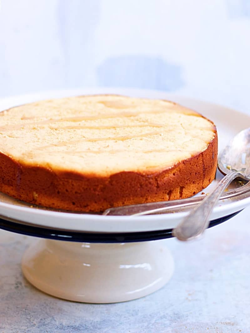 eggless whole wheat orange cake recipe