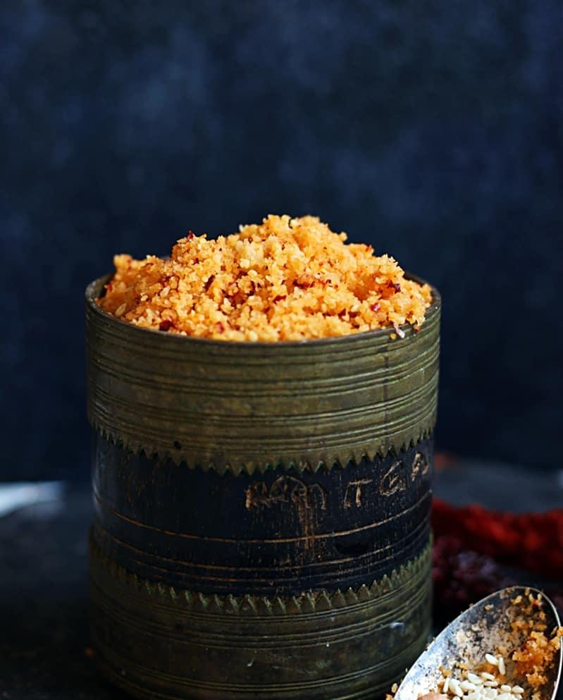 garlic chutney powder recipec