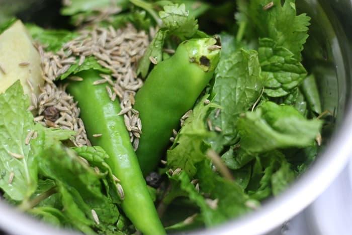 hara bhara sabudana kabab step 1