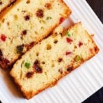 eggless orange loaf recipe