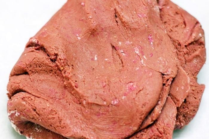 red velvet cookies step 5