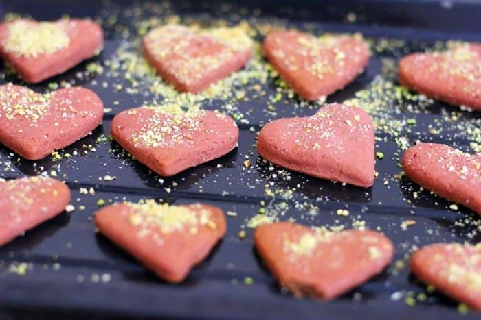 red velvet cookies step 7