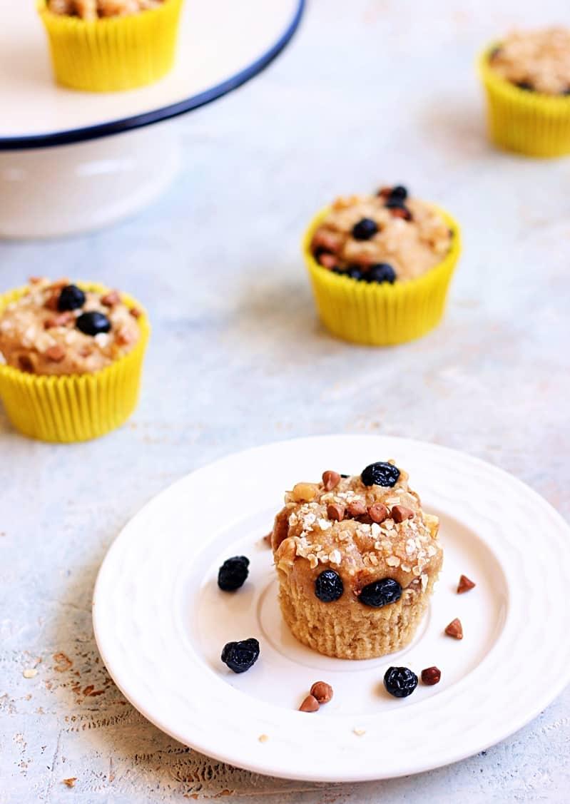 vegan banana muffins recipe a