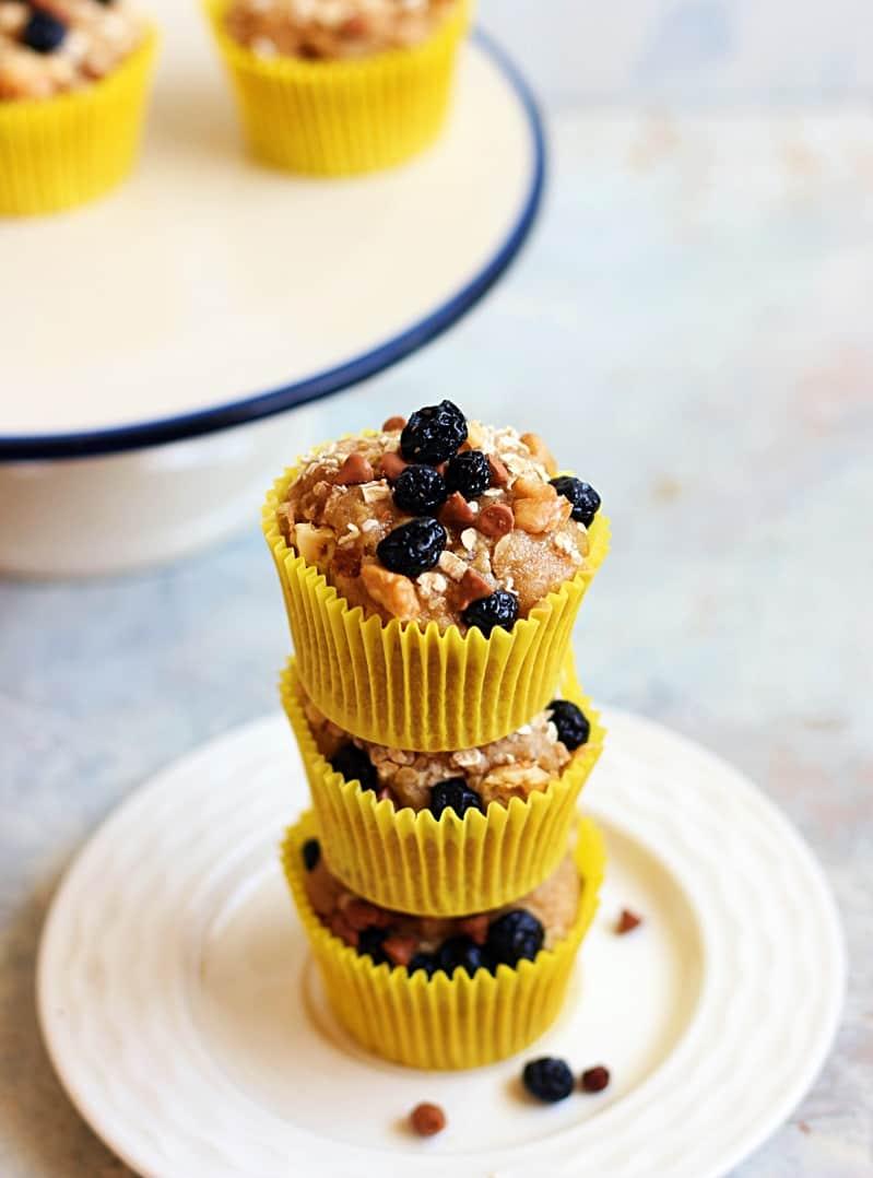 vegan banana muffins recipe d