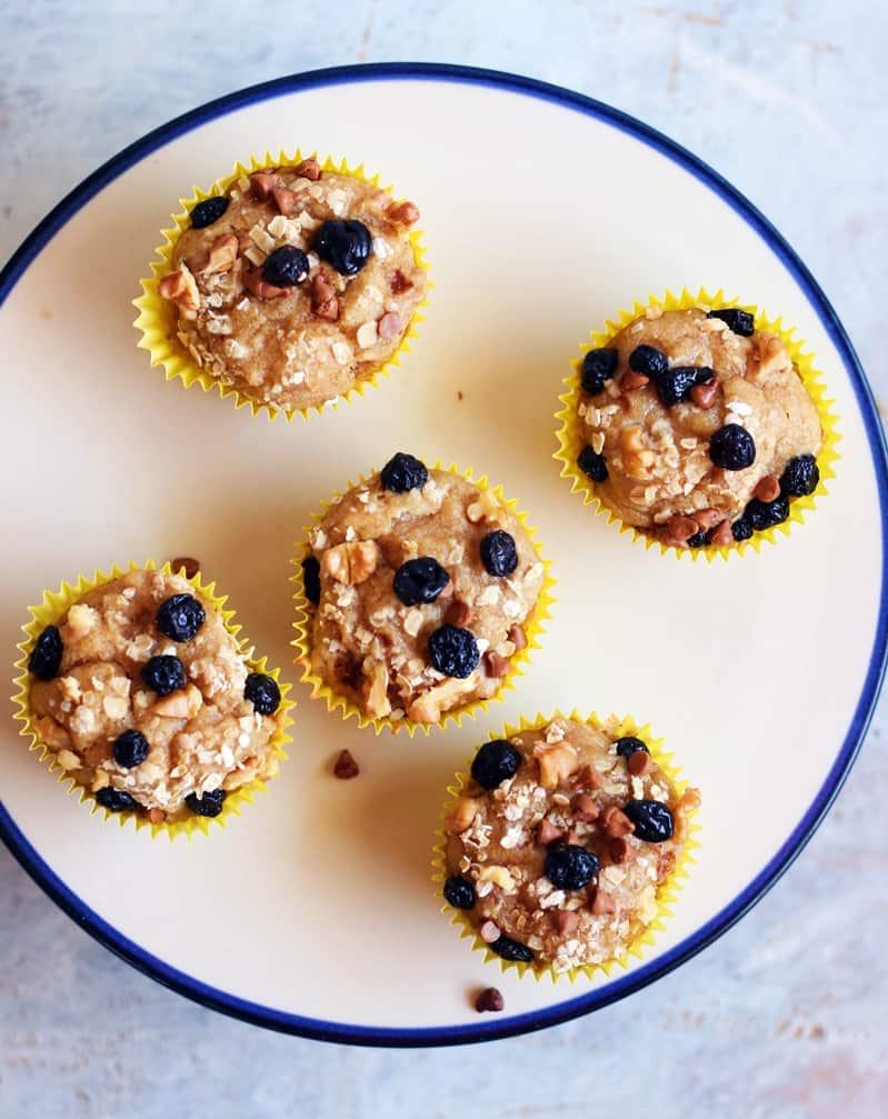 vegan banana muffins recipe f