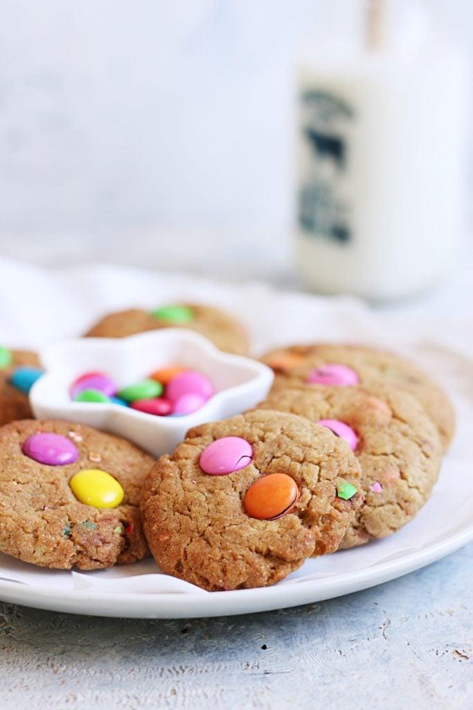 m&m cookies recipe d
