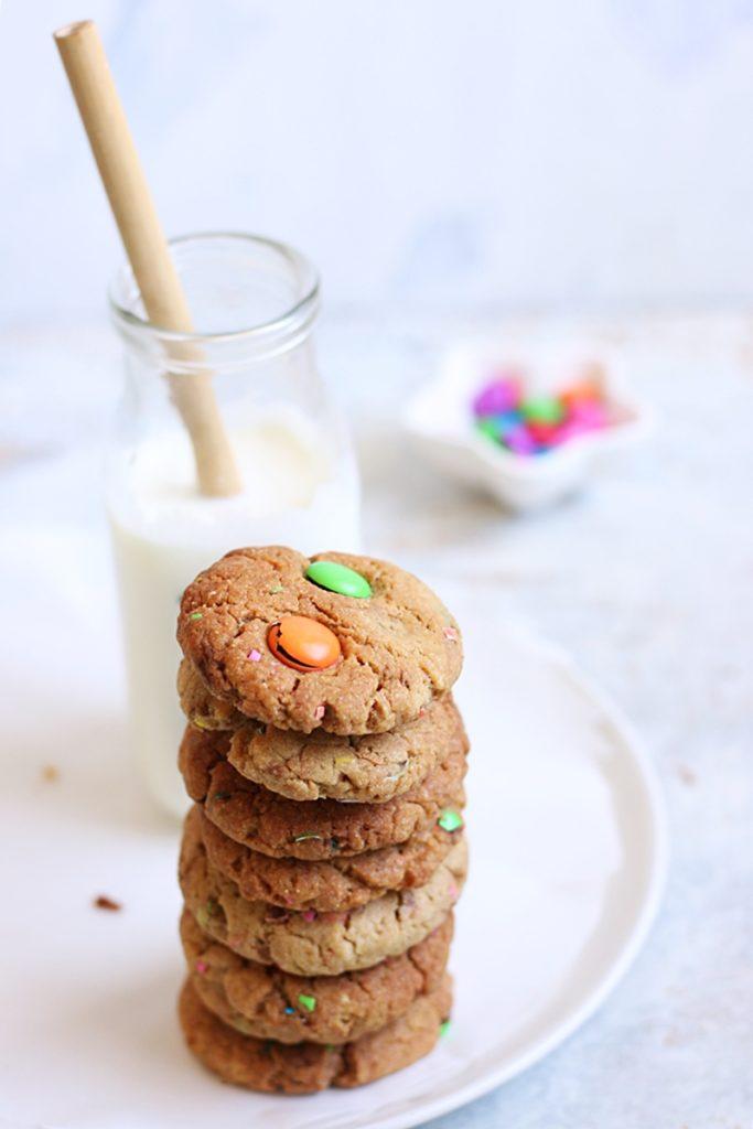 m&m cookies recipe f