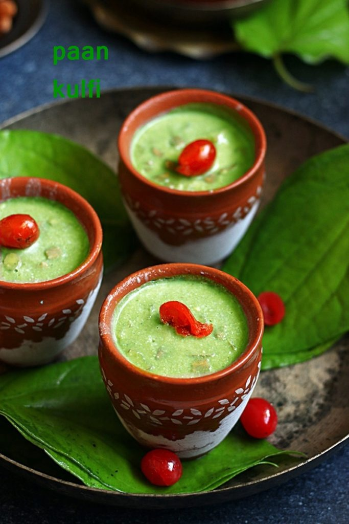 paan kulfi recipe