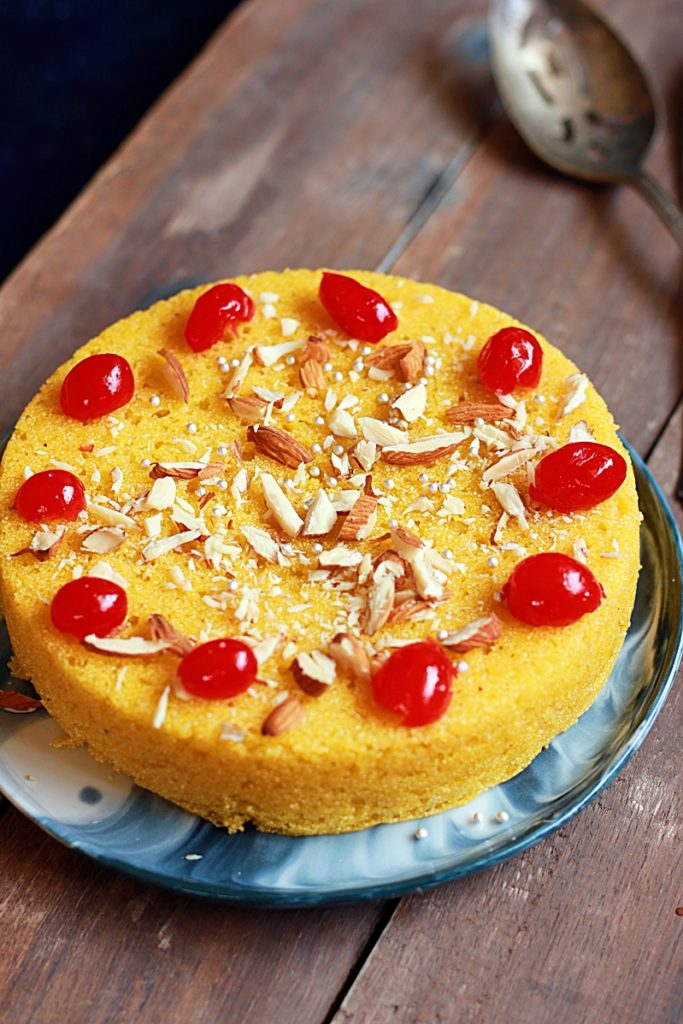 Mango rava cake recipe easy and vegan mango rava cake recipe forumfinder Choice Image