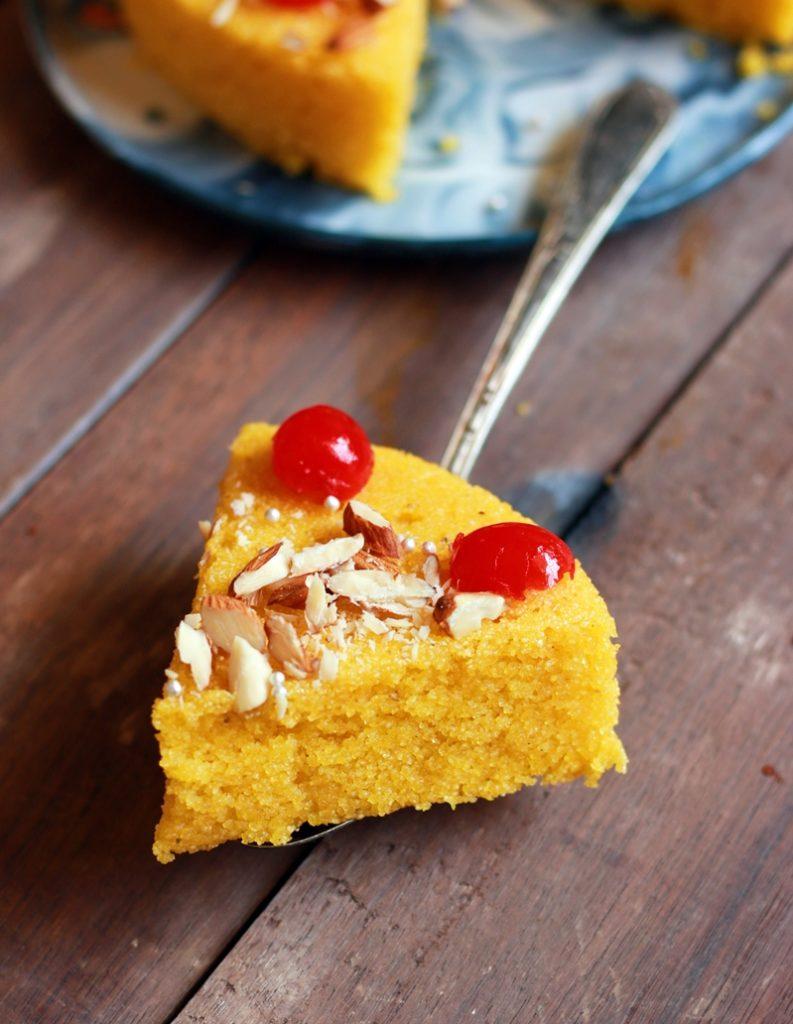 rava mango cake recipe b