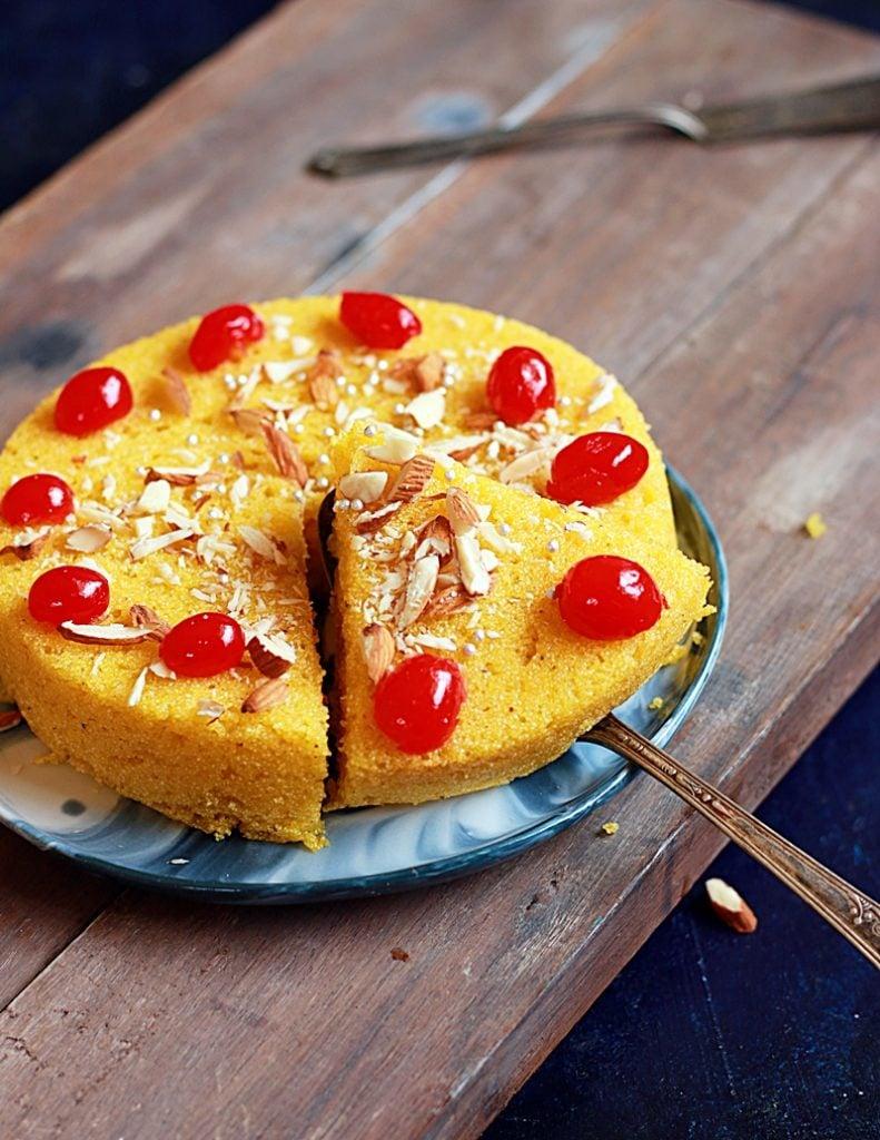 rava mango cake recipe c