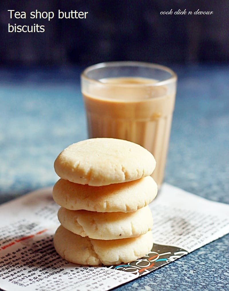 Butter biscuits recipe indian tea shop style