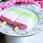 Cassata popsicles recipe | Easy three flavored popsicle recipe