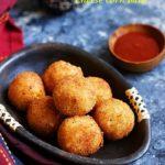 Cheese corn balls recipe   How to make cheese corn balls recipe