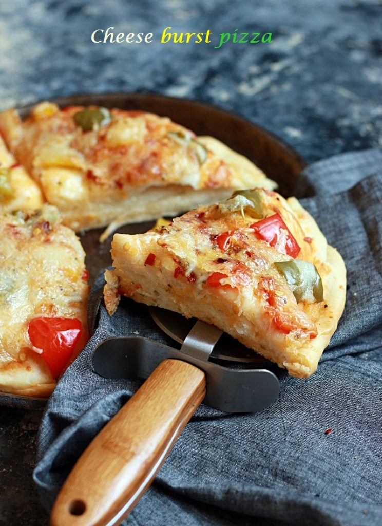 cheese burst pizza recipe