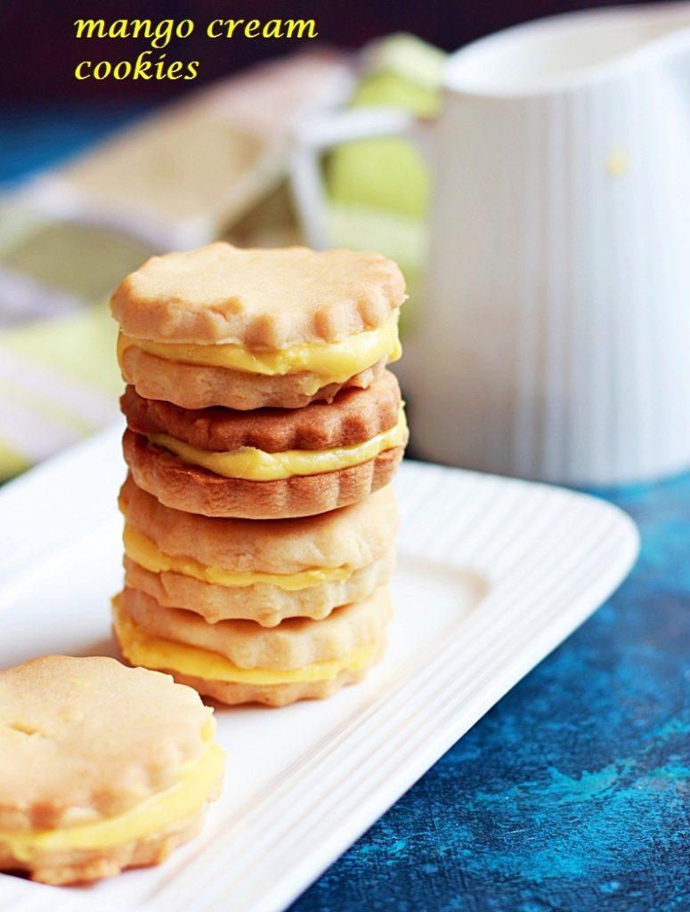 mango cream cookies recipe
