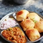 Pav bhaji recipe is a popular street food or snack from Maharastra. Bhaji is a delicious and flavorful mishmash of assorted veggies with a special spice blend.