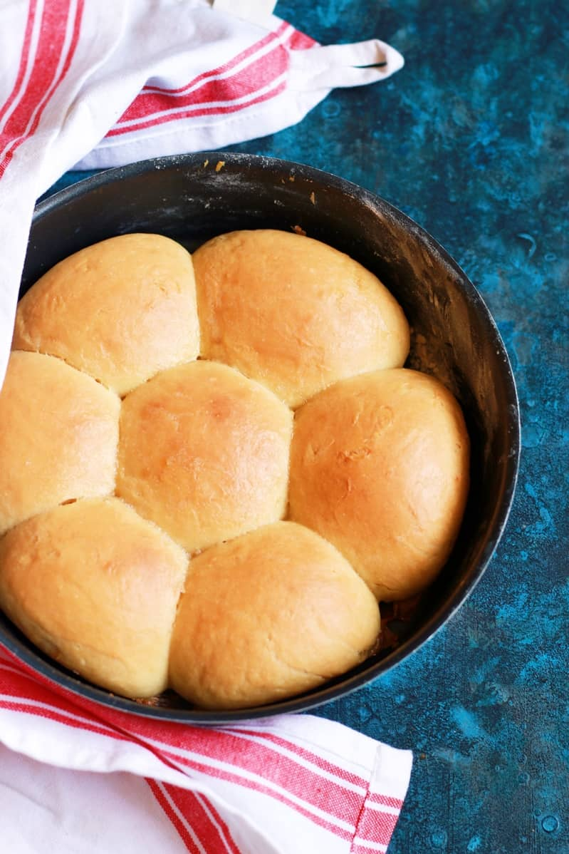 Pav buns baked without oven