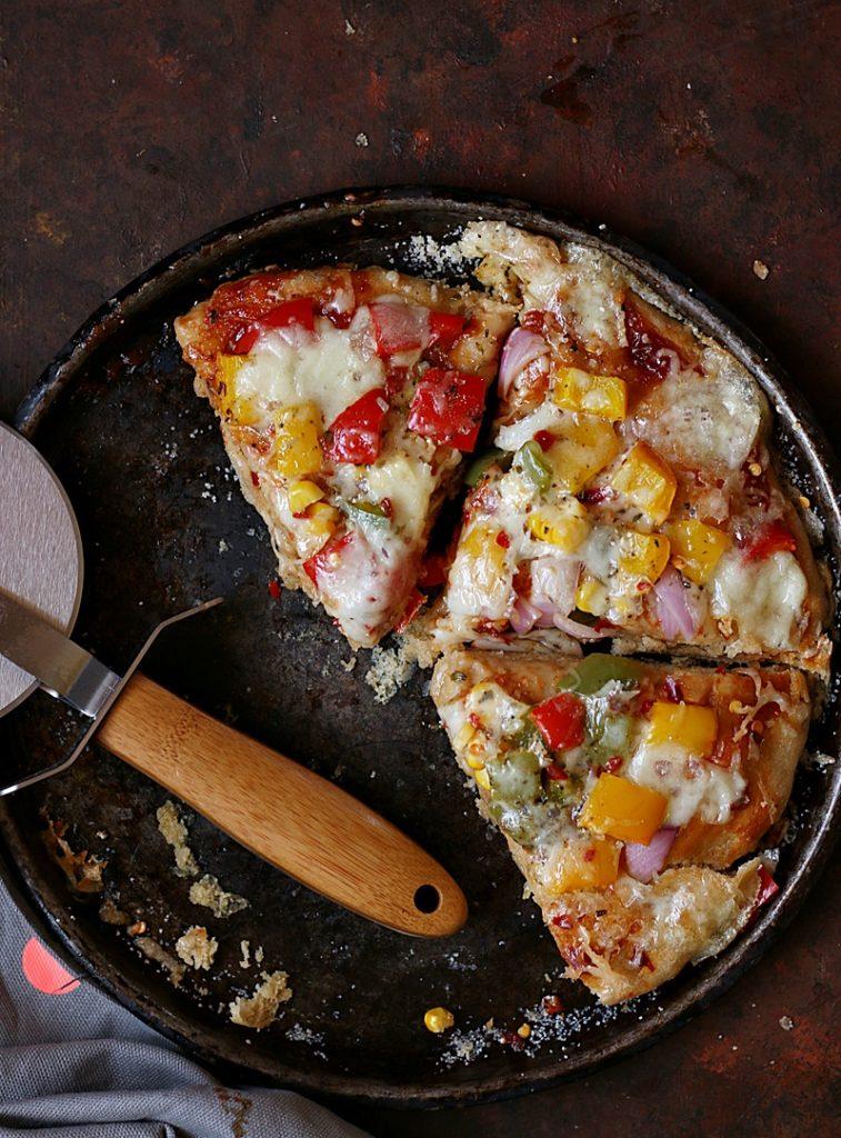 whole wheat pizza recipe b