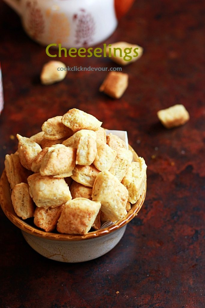Cheeselings recipe