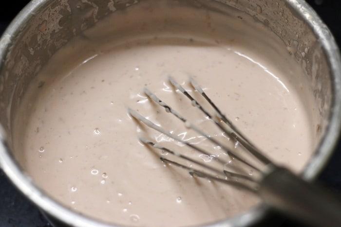 gulkand ice cream step 4