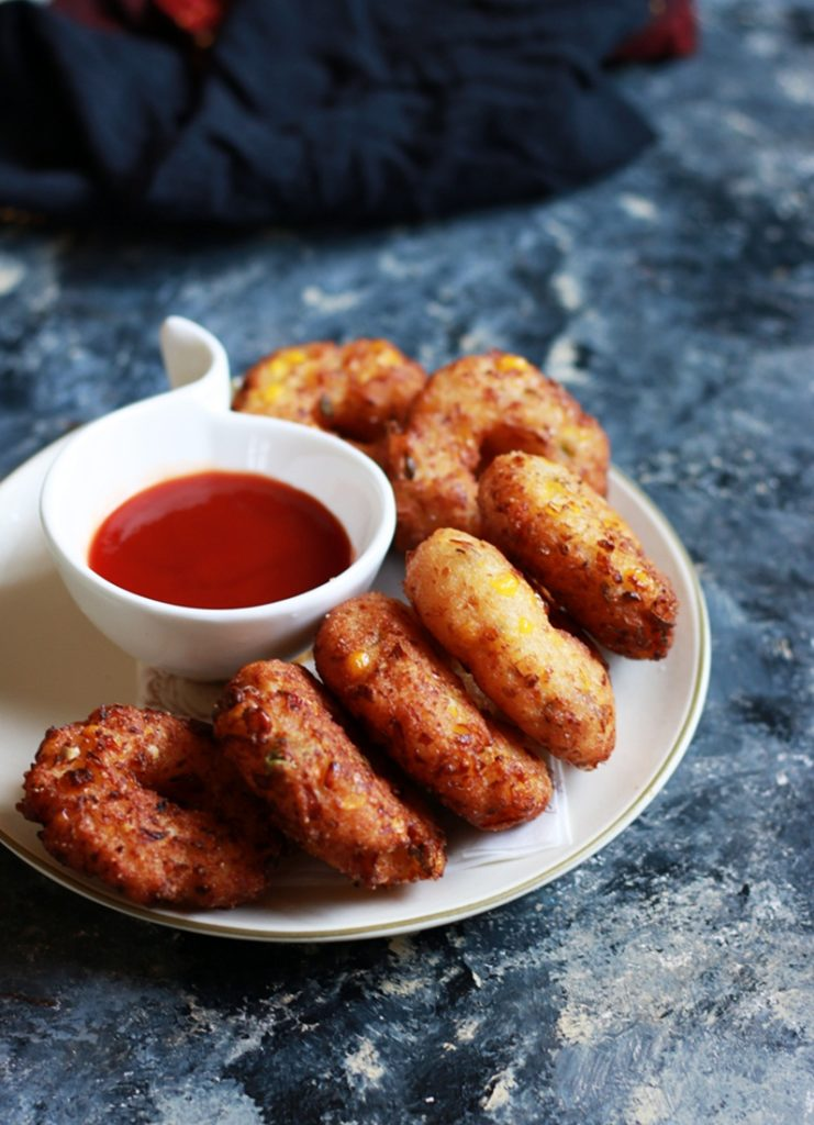 sweetcorn vada recipe d
