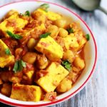 Chole paneer recipe | paneer channa masala recipe