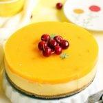 eggless mango cheesecake no bake