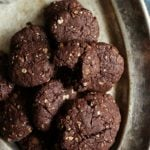 Oats brookies recipe | Eggless oats brownie cookies
