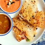 Rava dosa recipe with onions | How to make crispy instant rava dosa recipe