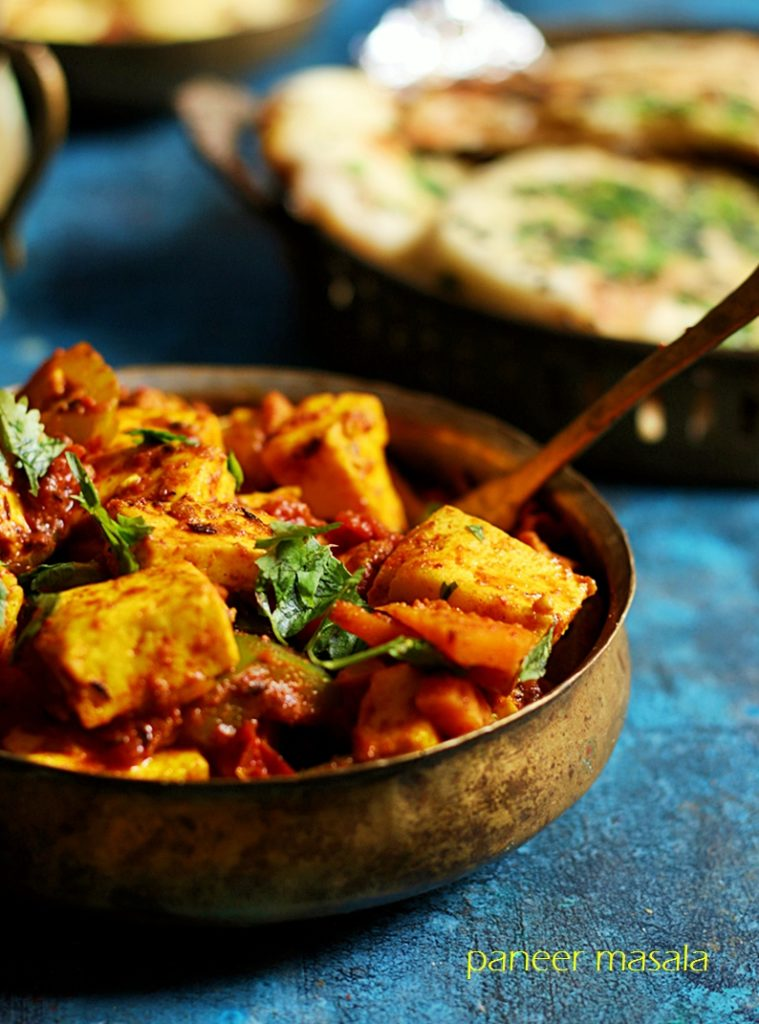 paneer curry recipe a